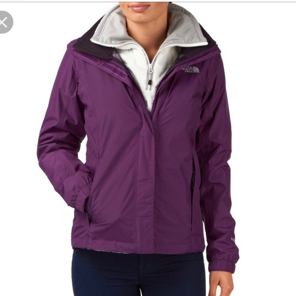 908ded9f4 THE NORTH FACE Girls' Resolve Rain Jacket NWT